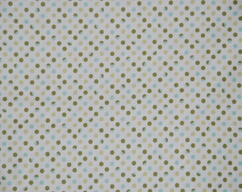 Marcus Brothers fabric Bleeker Street DOTS ON CREAM