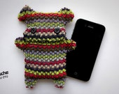Fellfische - fluffy Cellphone Case for Iphone 3 & 4 - Multicolor