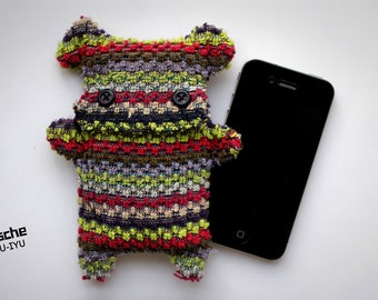 Fellfische - fluffy Cellphone Case for Iphone 3 & 4 - Multicolor