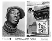 Grandmaster Flash Publicity Photo     8 by 10 inches