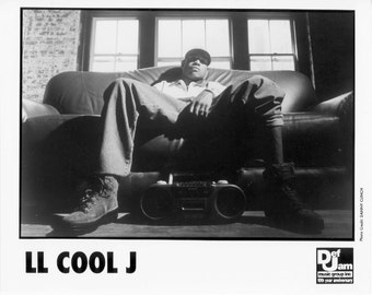 LL Cool J Publicity Photo    8 by 10 inches