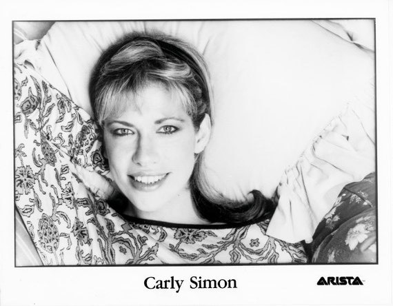 Carly Simon Publicity Photo     8 by 10 inches
