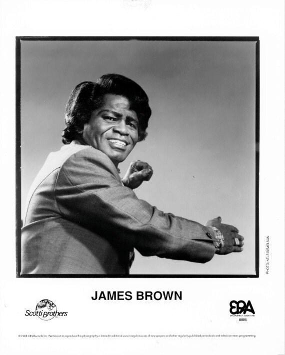 James Brown Publicity Photo