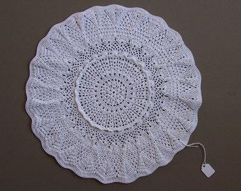 Hand made crochet doily