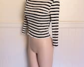 SALE: Gaultier breton T-shirt nautical theme