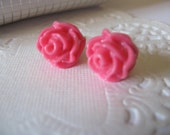 flower stud earrings,Resin Earrings,post earrings