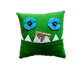 Green Tooth Fairy Pillow