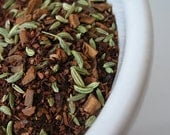 Herbal Tea : Honeybush, Cinnamon & Fennel. HOOKAH TEA caffeine-free loose leaf blend  1 oz.