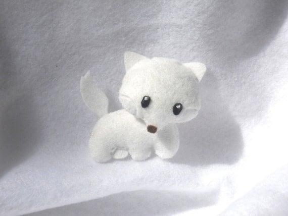 Artie the Arctic Fox Felt Plushie