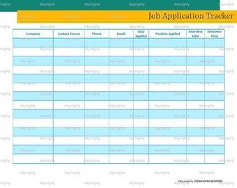 job application tracker