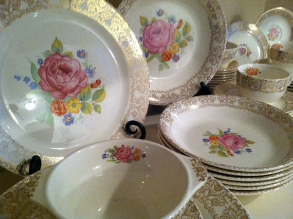 Reserved For Pam Sale Royal China Sebring Oh Union Made Annis