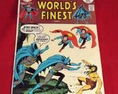 Vintage DC Comic Book  World's Finest (Son's of Superman and Batman)