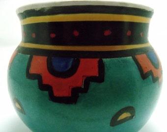 Vintage ECCA TERRA Hand Painted Vase