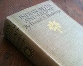 Hardcover Book - Indian myth and legend By Donald A. Mackenzie