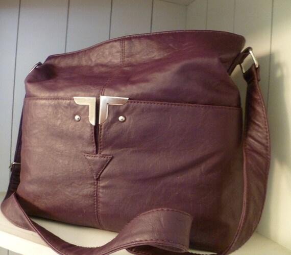 DSLR Camera Bag   Camera Bag and Purse in one  Upcycled Messenger Bag