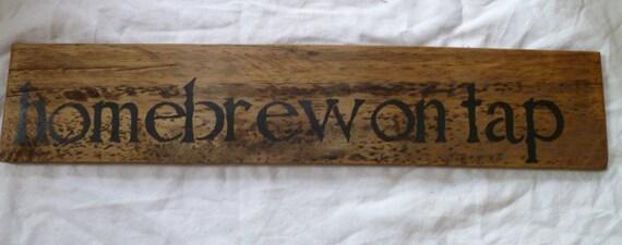 Homebrew  Beer Sign   Mancave  Sign   Craft  Beer Sign  Microbrew