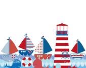 Items similar to Nautical Clip Art Set - printable digital clipart ...