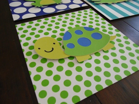 Wall Art, Nursery Art, Boys room decor, kids room art, kids wall art, baby nursery, kids decor, baby boy decor, turtle decor