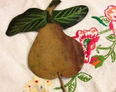 Vintage Pear Wall Hook with Hanger