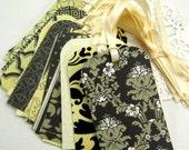 Wedding WiSH TREE Escort Cards- Tags (La Creme) Wedding Shower- Wedding Decoration- DIY, Place Name Cards- Favor Tags