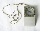 Vintage Compass with ruler from Germany - beautiful vintage european compass - industrial tool or  decor