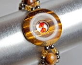 Natural Grace: Tigerseye Bracelet
