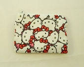 Hello Kitty Collage Fabric Coin Purse
