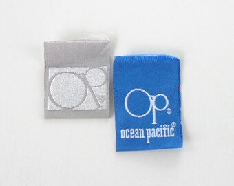 Vintage Clothing Garment Labels, Ocean Pacific OP Surfer Dude