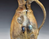 Double-Facetted, Lobed, and Wood-Fired Pitcher