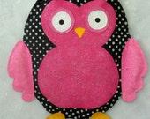 Hoot Owl Burlap Door Hanger