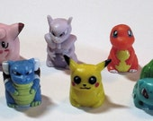 6 Pokemon Monopoly Game Pieces