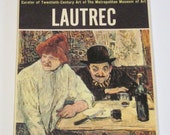 Museum Art Cards of 16 Full Color Reproductions of Lautrec
