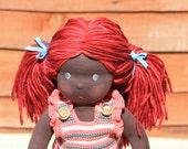 """Waldorf doll Gabija,16"""" tall,soft toy"""