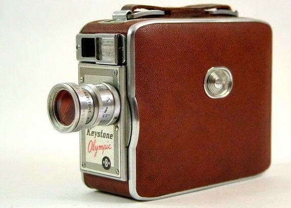 Keystone Olympic K-32 8 MM Video Camera