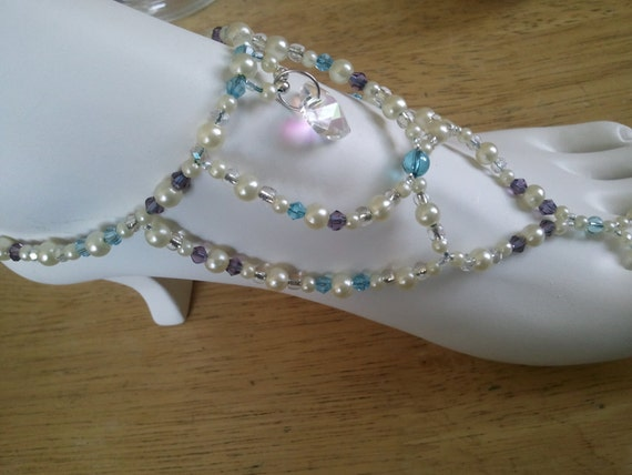 Barefoot Sandals for Your Wedding or the Beach, Custom Made Just For You