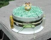 Mini 1 Tier Safari Diaper Cake