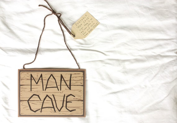 Father's Day Card: CLEARANCE Portable MAN CAVE Card