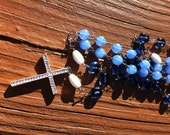 Reserved for Michelle- Handmade Rosary Beads
