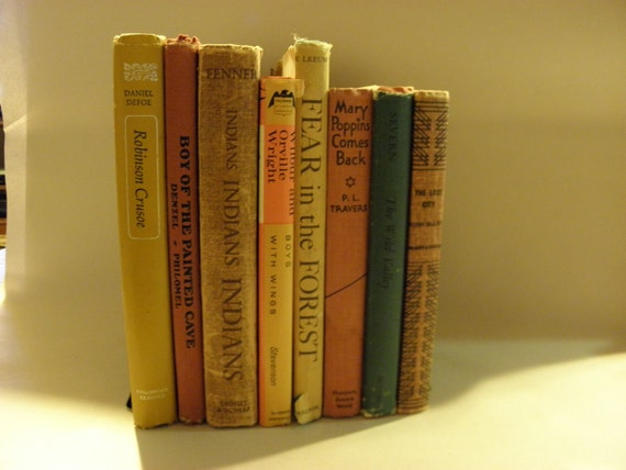 Vintage bundle of Young Adult Shabby Chic Books