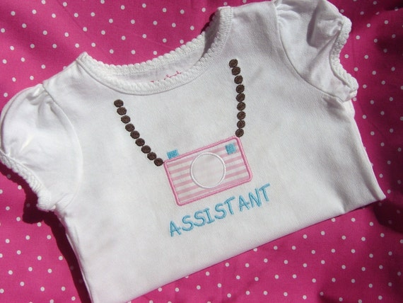 Child's Vintage Camera Assistant Shirt