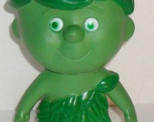 1970's Jolly Green Giant Little Sprout Vinyl Advertising FIGURE Doll