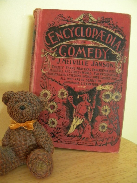 vintage Book The Encyclopedia of Comedy