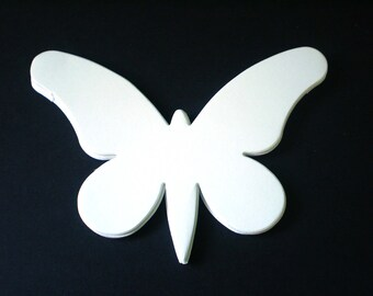 Large White Die Cut Butterflies