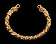 Viking Bracelet with Dragonheads