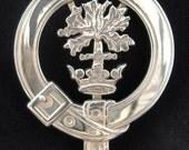 Hamilton Scottish Clan Crest Badge
