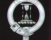 Houstoun Scottish Clan Crest Badge
