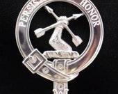 Morgan Scottish Clan Crest Badge