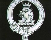 Rob Roy Scottish Clan Crest Badge
