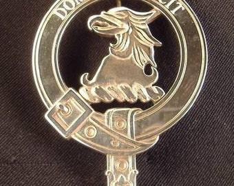 Baird Scottish Clan Crest Badge