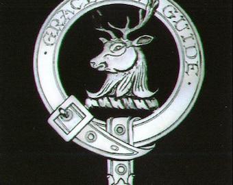 Forbes Scottish Clan Crest Badge